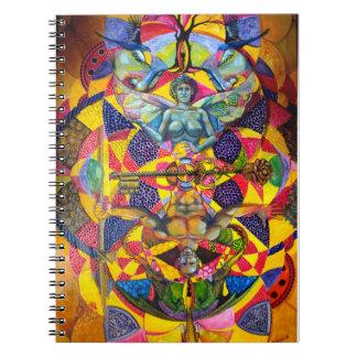 Cuaderno sagrado de la geometría