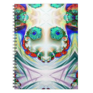 Cuaderno sonriente del muñeco de nieve espeluznant