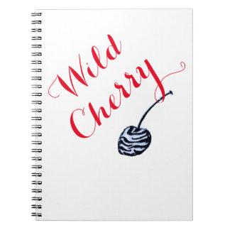 Cuaderno style2 de la cereza salvaje