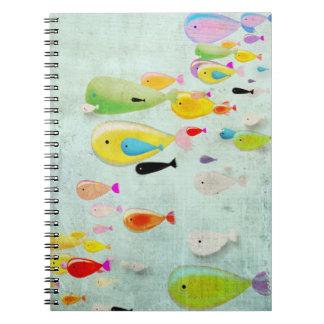 Cuaderno subacuático
