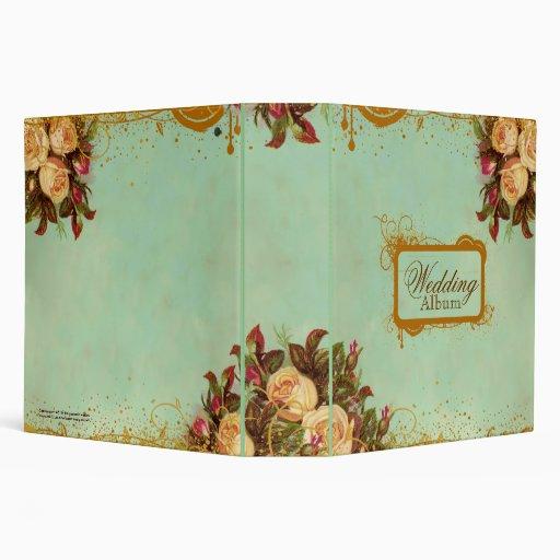 """Cuaderno subió Victorian elegante Carpeta 2"""""""