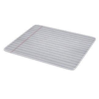 Cuaderno - tablero del corte del vidrio tabla de cortar