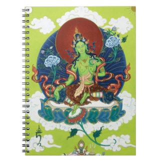 CUADERNO Tara verde - la madre de todo el Buddhas