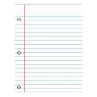 Cuaderno Tarjeta Postal