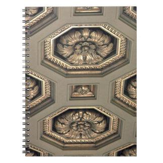 Cuaderno - techo del teatro de la ópera de San Fra