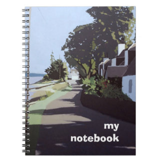 Cuaderno temático ilustrado color de la bella arte