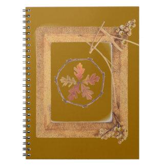 Cuaderno terroso del Pentagram