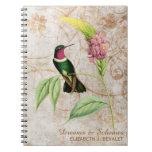 Cuaderno Throated Amethyst del colibrí