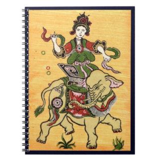 Cuaderno tradicional de la cultura