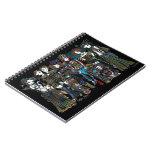 Cuaderno tribal de las hadas de Steampunk del arte