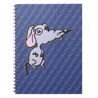 Cuaderno triste del ratón