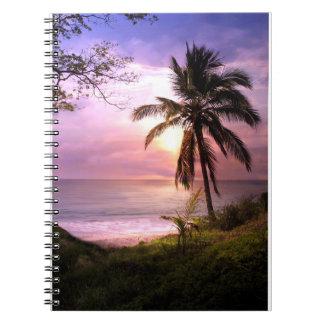 Cuaderno tropical del paraíso