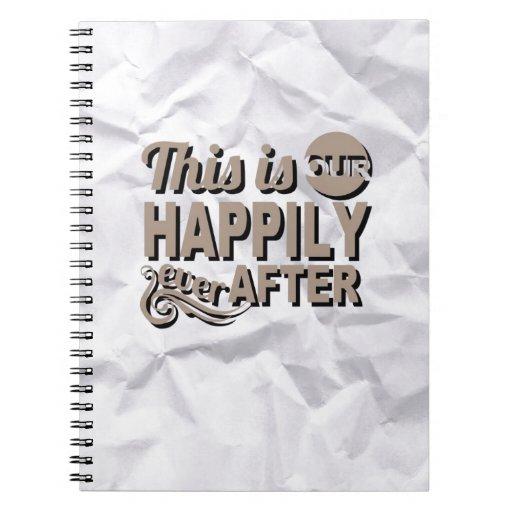 Cuaderno único de la foto