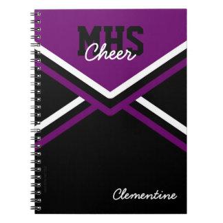 Cuaderno uniforme de la escuela de la animadora
