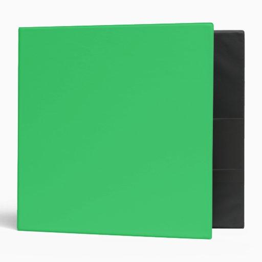 Cuaderno verde claro