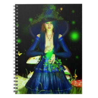 Cuaderno verde de Magick