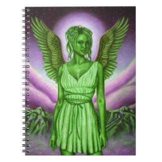 Cuaderno verde del ángel de guarda (80 páginas