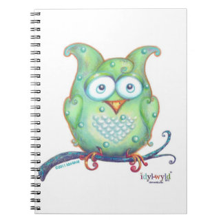 cuaderno verde del búho