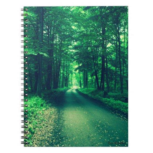Cuaderno verde del camino
