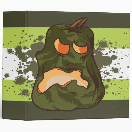 """cuaderno verde fantasmagórico de la calabaza carpeta 2"""""""