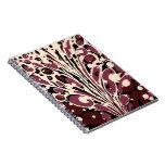 Cuaderno veteado marrón