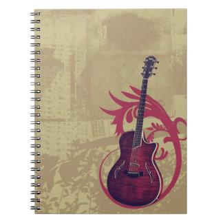 Cuaderno viejo de la guitarra