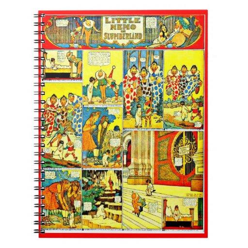 Cuaderno-Vintage Tebeos-Pequeño Nemo 3 Note Book