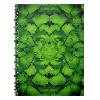 Cuaderno virginal del diario de la mandala del hel