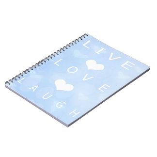 Cuaderno vivo de la risa del amor