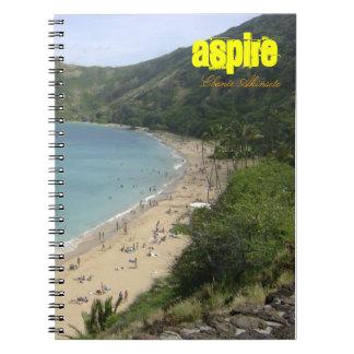 Cuaderno y diario inspirados/de motivación
