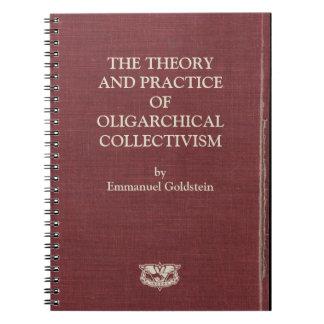 Cuadernos 1984 de la cubierta de libro de Goldstei