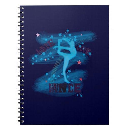 Cuadernos de la alegría de la danza de Gymnatsics