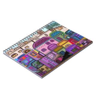 Cuadernos espirales de la tapicería de Jerusalén