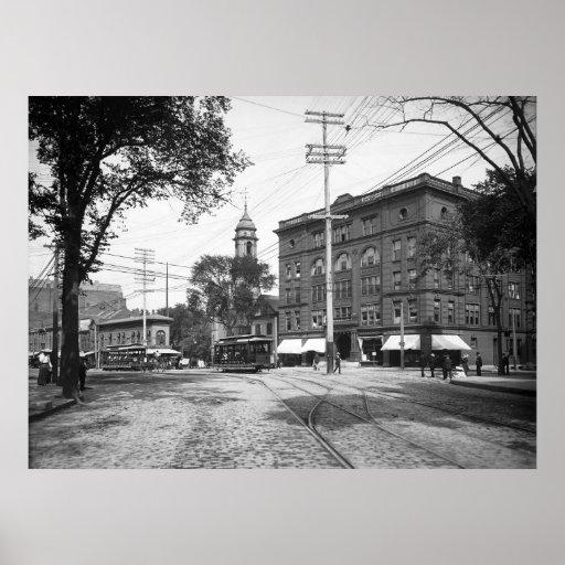 Cuadrado 1904 del congreso de Portland, Maine Impresiones