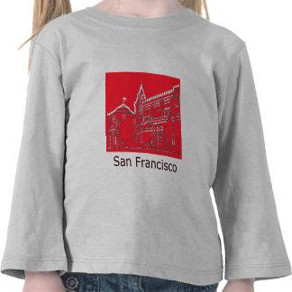 Cuadrado 1986 de San Francisco Ghirardelli el MUSE Camiseta
