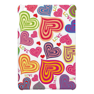 cuadrado 2 del amor iPad mini carcasas