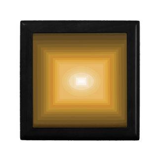 cuadrado amarillo del cricketdiane - los 9-9z-9m - joyero cuadrado pequeño