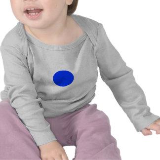 Cuadrado azul CircleTrans-3 del círculo el MUSEO Camiseta