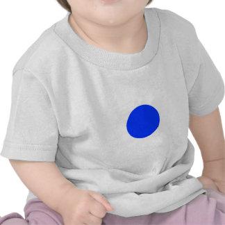 Cuadrado azul CircleTrans-3 del círculo el MUSEO Z Camiseta