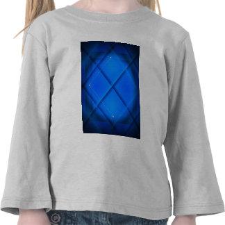 Cuadrado azul camisetas