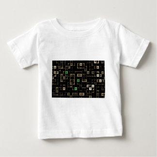 Cuadrado coloreado multi abstracto tee shirt