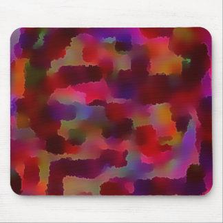Cuadrado colorido tapete de raton