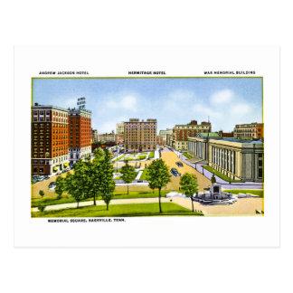Cuadrado conmemorativo Nashville Tennessee