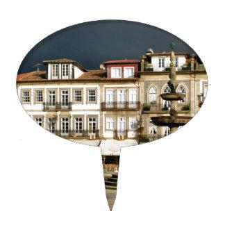 Cuadrado de Camoes en Ponte de Lima Portugal