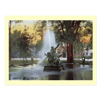 Cuadrado de Chancelor, Utica, vintage de NY Postal