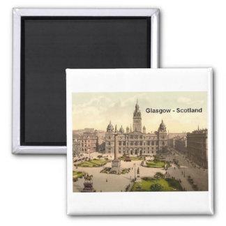 Cuadrado de Escocia Glasgow George (St.K.) Imán Cuadrado