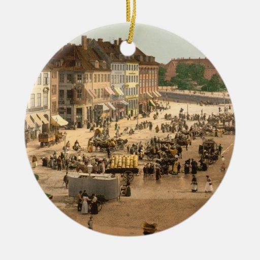 Cuadrado de Hochbrucke, Copenhague, Dinamarca Adorno De Navidad