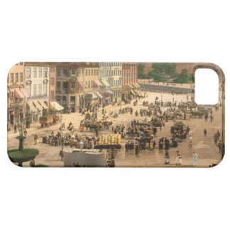 Cuadrado de Hochbrucke, Copenhague, Dinamarca iPhone 5 Case-Mate Cárcasa