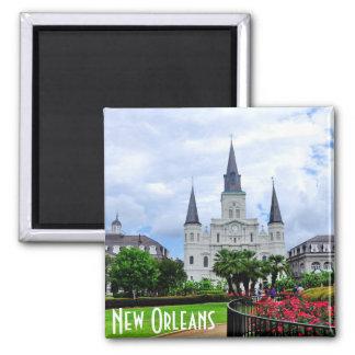 Cuadrado de Jackson, imán de New Orleans