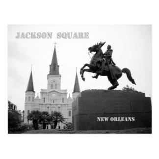 Cuadrado de Jackson, New Orleans Tarjeta Postal